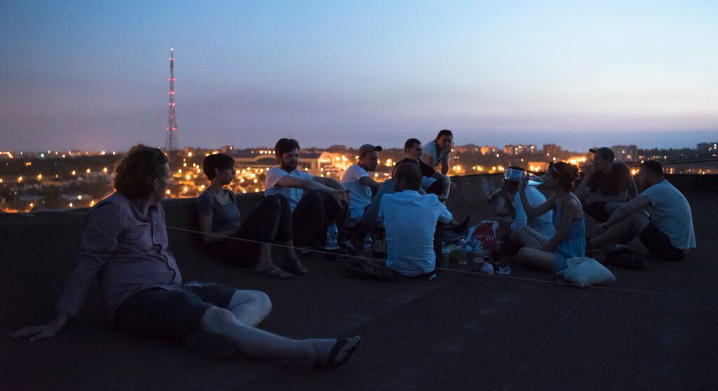 UKR fransesco lobo rooftop group