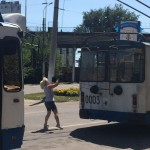 UKR trolly lady